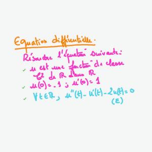 Aleph   Classe Bac+2